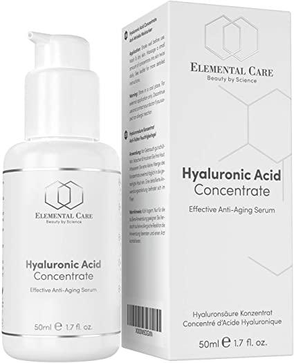 Elemental Care Vegan Hyaluronic Acid Serum