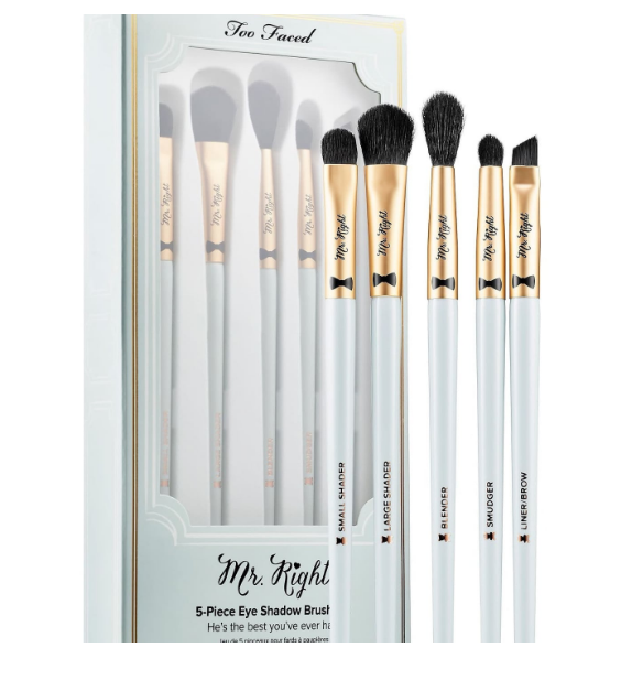 Too Faced - The most girly vegan brushes