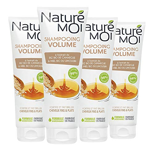 Naturé moi Volume shampoo with organic rice extract