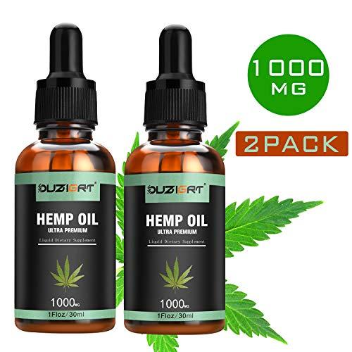 Ouzigrt Organic Hemp Oil