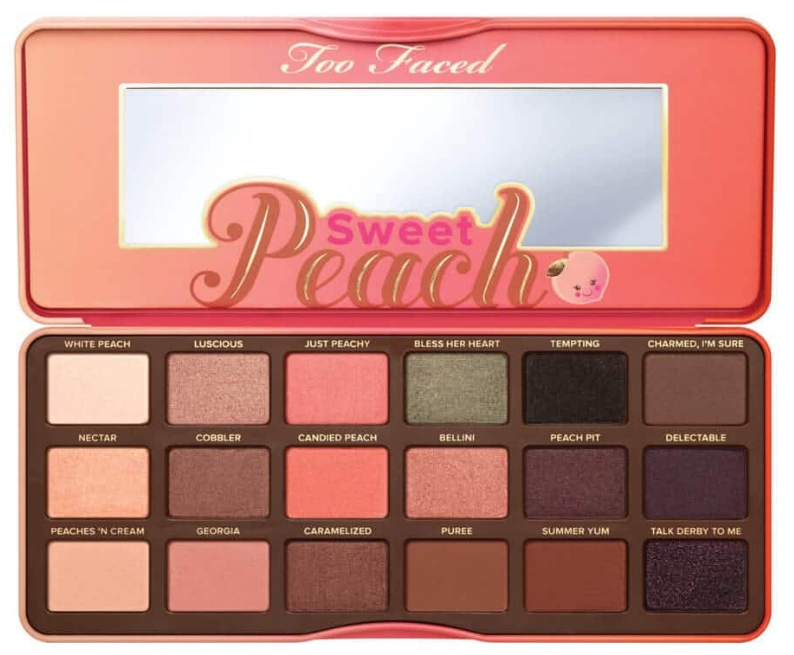 Too Faced Sweet Peach - The Most Girly Palette