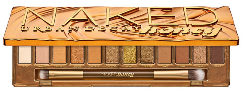 Urban Decay Naked Honey - The Golden Palette That Sublimates Brown Eyes