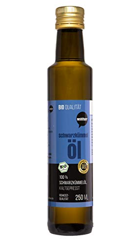 Wohltuer Beneficial Egyptian black cumin oil certified organic
